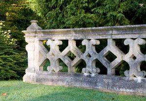 Detail of stone balustrading