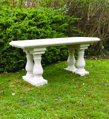 http://www.chilstone.com/garden-ornaments-furniture/baluster-bench-seat