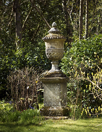 Longleat Urn and Pedestal