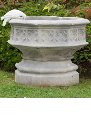 Octagonal Gothic Jardiniere