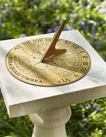 Classic Sundial Plate