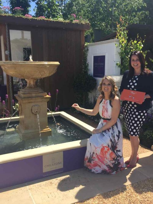 Charlotte Hawkins Unveils Our Stand at RHS Chelsea Flower Show!