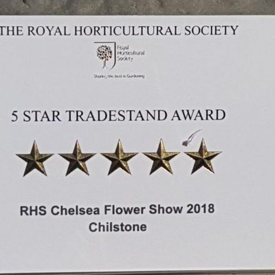 Awards and Medals from RHS Chelsea Flower Show 2018
