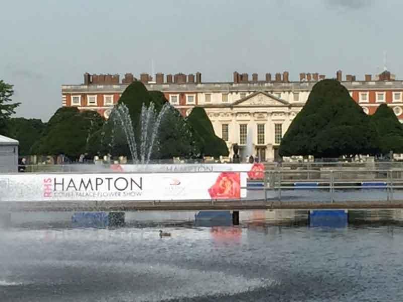 Hampton Court Flower Show Update