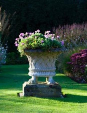 Harewood Jardiniere On Lion Feet and Plinth