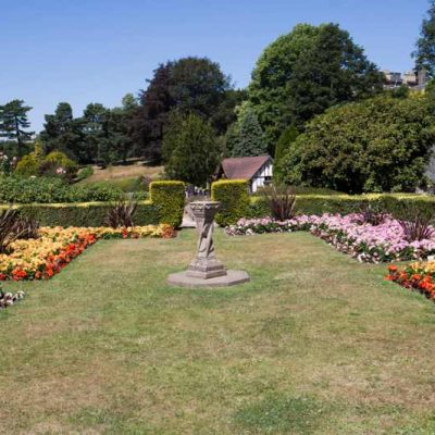 Period Garden Restoration Project For Britain in Bloom