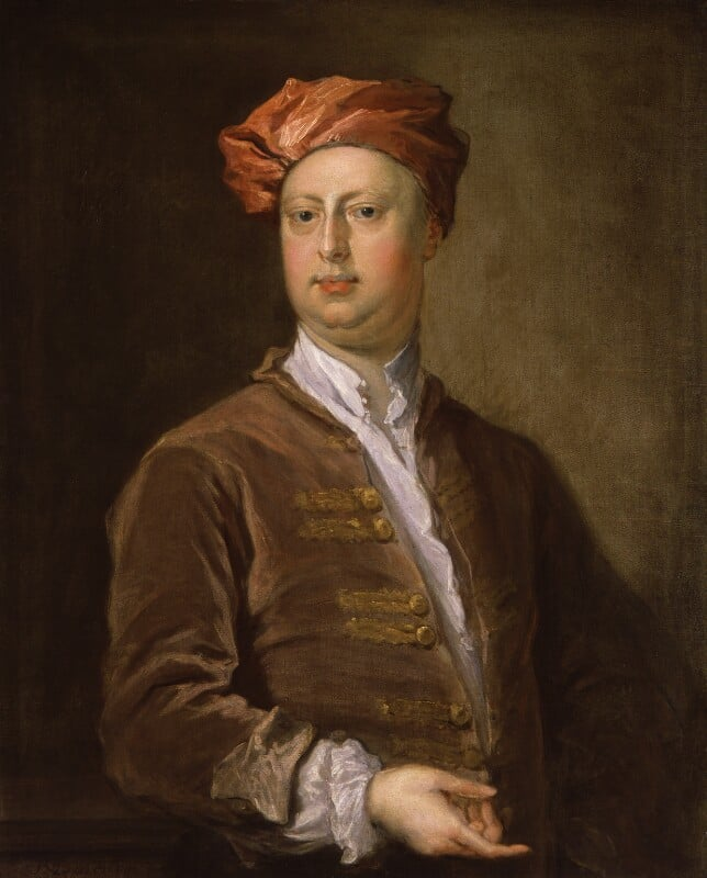 Painting of William Kent 'The father of modern gardening'