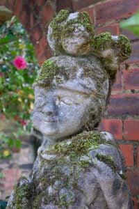 Boy Soldier Aged Cast Stone Statue